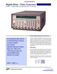 Digital Delay / Pulse Generator - Prager Elektronik