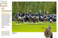 Pony- Sport im Aufwind - Pferd+Sport