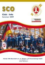 Club - Info Sommer 2009 - Erdinger-arena.net