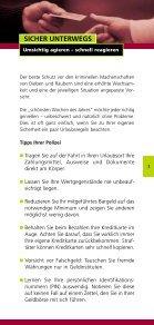Langfinger machen niemals Urlaub! - Kartensicherheit.de - Seite 3