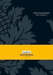 Unser Unternehmen Our Company - Hofburg