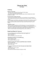 Charta der Erde - Earth Charter Initiative