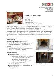 CAFÉ SACHER GRAZ - Graz Tourismus