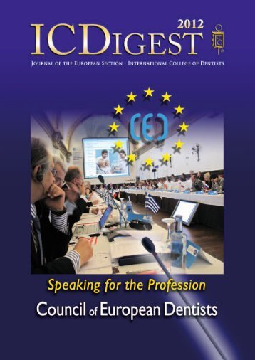 Digest 2011 (7 MB) - International College of Dentists