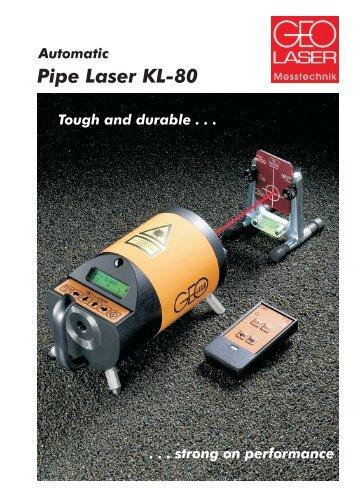 Pipe Laser KL-80