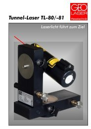 Tunnel-Laser TL-80/-81