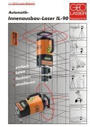 Innenausbau-Laser IL-90