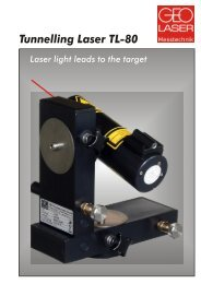 Tunnelling Laser TL-80