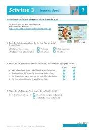 Schritte 3 international - Hueber