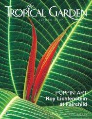 POPPIN' ART Roy Lichtenstein at Fairchild - Fairchild Tropical ...