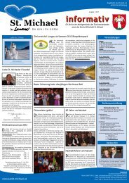 Informativ Jänner 2012 - Wirtschaft St. Michael
