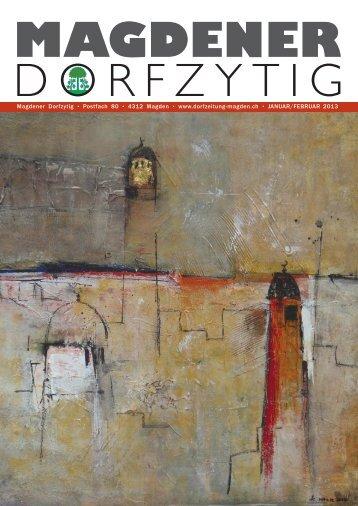 Ausgabe Nr. 30, Januar/Februar - Magdener Dorfzytig