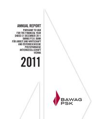 Annual-Report pursuant to UGB - BAWAG PSK