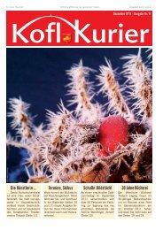 Koflkurier - Ausgabe 8 - in Tristach