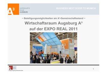 business next door to munich - im Wirtschaftsraum Augsburg.