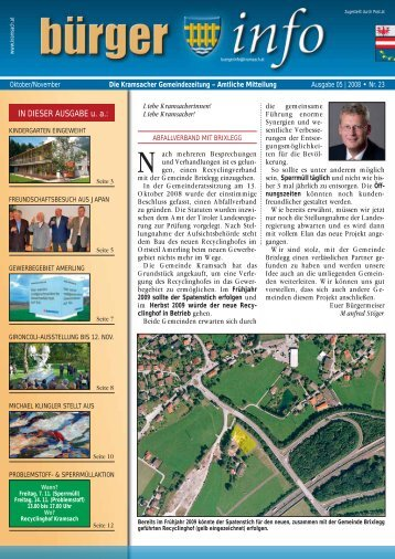 05/2008 Nr. 23 (700 KB) - Gemeinde Kramsach