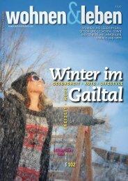 wohnen & leben - Ausgabe 5.pdf - Holzbau Pichler