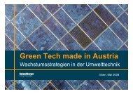 Green Tech made in Austria - Roland Berger