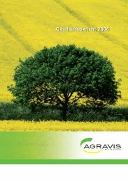 gesamter Geschäftsbericht 2006 - AGRAVIS Raiffeisen AG