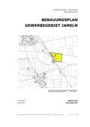 bebauungsplan gewerbegebiet jameln - Landkreis Lüchow ...