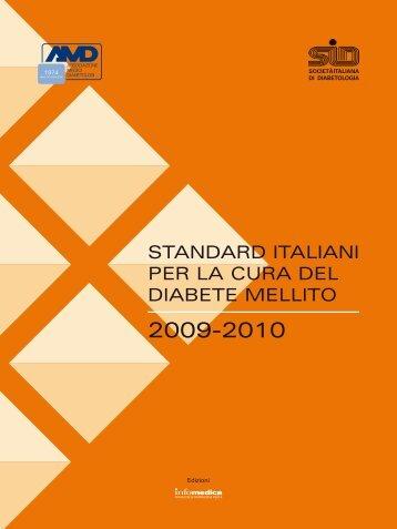 standard italiani per la cura del diabete mellito - Changing Diabetes ...