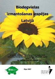 (Biodegvielas izmantošanas iespējas Latvijā) - Download pdf file