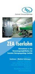 ZEA Iserlohn - ZEA Zentrale Entsorgungsanlage in Iserlohn