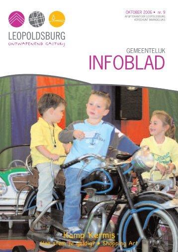 Infoblad oktober 2006 - Leopoldsburg