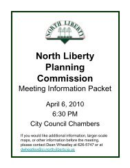 Complete April packet - City of North Liberty