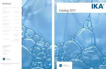 Catalog 2011 IKA - Chiron