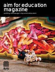 AIM for Education Magazine - Mississauga Arts Council