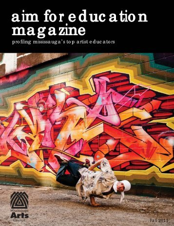 AIM for Education Magazine - Mississauga Arts Council