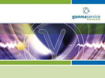 Gamma-Service Recycling - IAEA