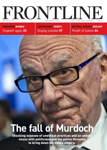 The fall of Murdoch - The Hindu images