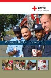 2010 Annual Report - American Red Cross