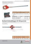 Manuelle Rohrgewindeschneider - Reiter Werkzeuge - Seite 2
