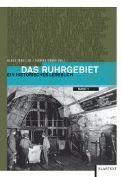 Das Ruhrgebiet – Ein historisches Lesebuch - Klartext Verlag