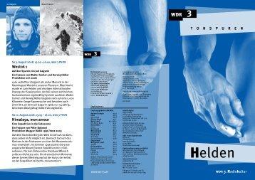 Sendungsinformationen als .pdf-Download - WDR.de
