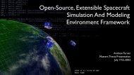 Masters Thesis Presentation - Open-SESSAME Framework ...