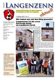 Ausgabe Nr. 17 vom 05.10.2012 Seite 01 - Langenzenn
