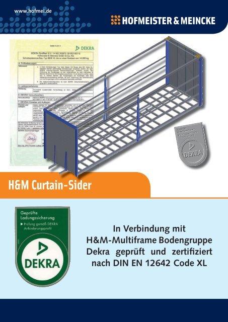 PDF öffnen - Hofmeister & Meincke