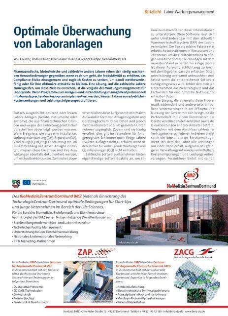 Zellbiologie & Imaging - Laborwelt