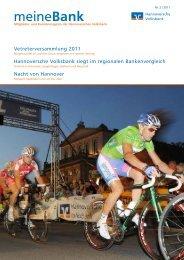 Ausgabe 2|2011 - Hannoversche Volksbank eG