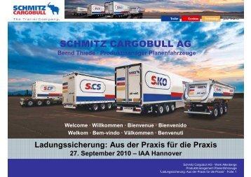 SCHMITZ CARGOBULL AG - IAA