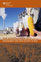 the browning of biofuels - Woodrow Wilson International Center for ...
