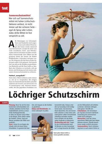 Stiftung Warentest - korsinews.com