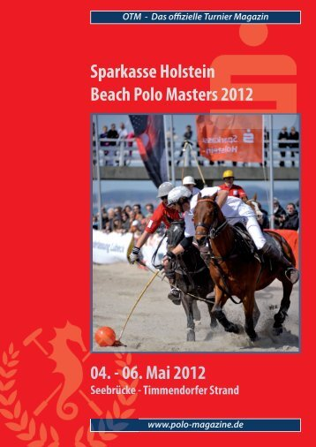 OTM - Das offizielle Turnier Magazin - Baltic Polo Events