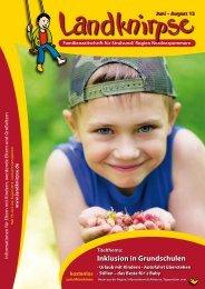 Inklusion in Grundschulen - Landknirpse