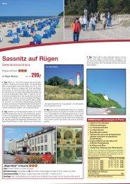 Sassnitz auf Rügen - Anton Graf GmbH Reisen & Spedition