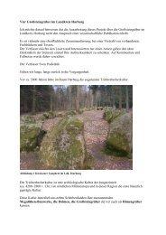Vier Grosssteingräber im Landkreis Harburg - www . erratiker . ch
